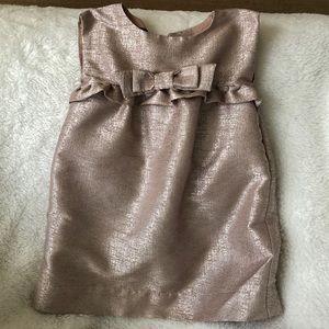 Baby gap rose gold dress 12-18 mos